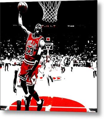 Michael Jordan 23e Metal Print