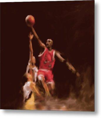 Michael Jordan 548 2 Metal Print by Mawra Tahreem