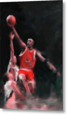 Michael Jordan 548 3 Metal Print by Mawra Tahreem