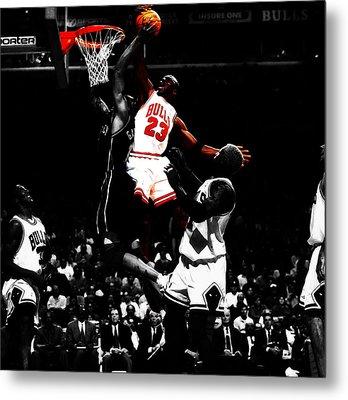 Michael Jordan Gimme Dat Metal Print