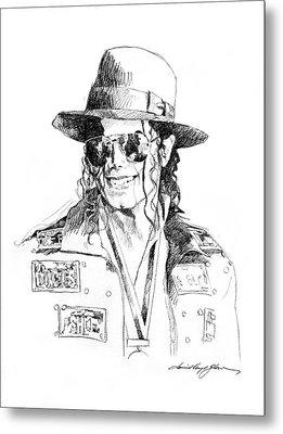 Michael's Jacket Metal Print by David Lloyd Glover