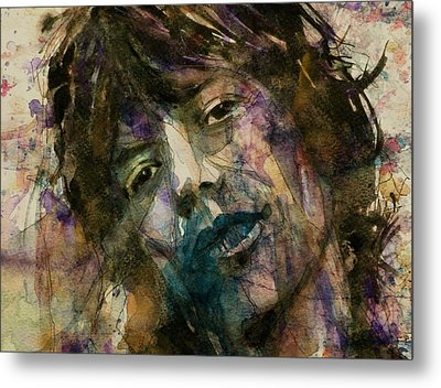 Mick Jagger @ Gimmie Shelter  Metal Print by Paul Lovering