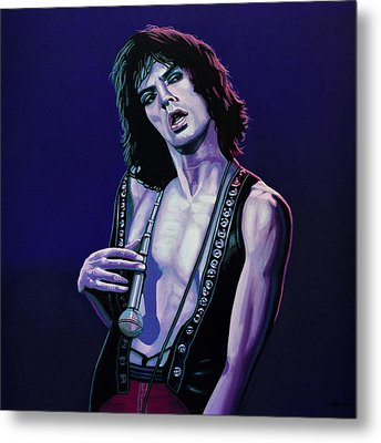 Mick Jagger 3 Metal Print by Paul Meijering