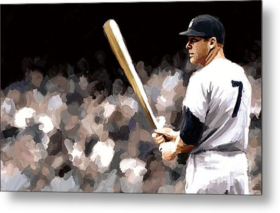 Mickey Mantle Signed Prints Available At Laartwork.com Coupon Code Kodak Metal Print