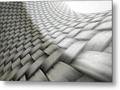 Micro Fabric Weave Comparison Metal Print by Allan Swart