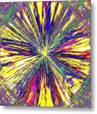 Micro Linear 17 Metal Print by Will Borden