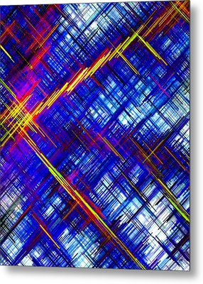 Micro Linear 6 Metal Print by Will Borden