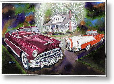Mid Century Classics Metal Print by Mike Hill