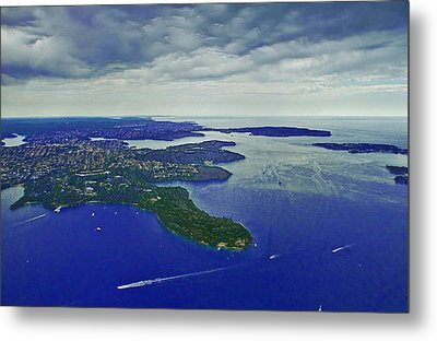 Middle Head And Sydney Harbour Metal Print