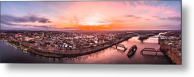 Middletown Connecticut Sunset Metal Print by Petr Hejl