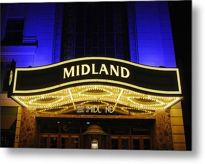 Midland Theater Metal Print