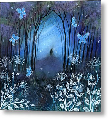 Midnight Metal Print by Amanda Clark