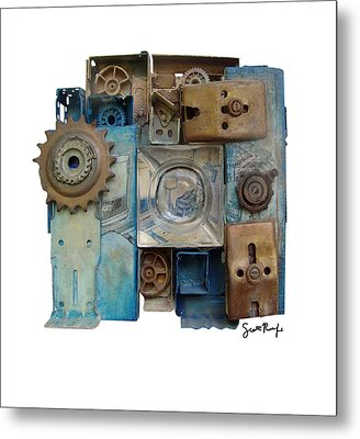 Midnight Mechanism Metal Print by Scott Rolfe