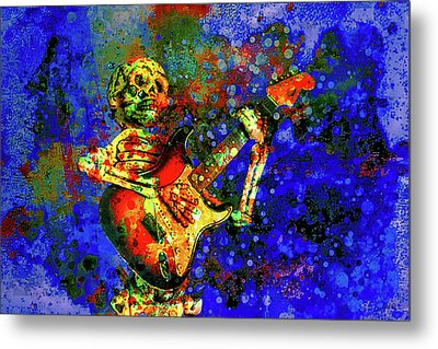 Metal Print featuring the photograph Midnight Serenade by Jeff Gettis