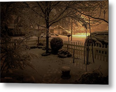 Midnight Special Metal Print by Mick Anderson