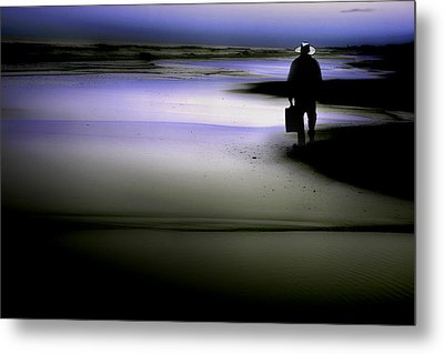 Midnight Wanderer Metal Print by Gray  Artus