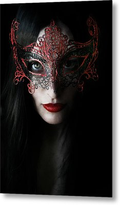 Midnight Metal Print by Cambion Art