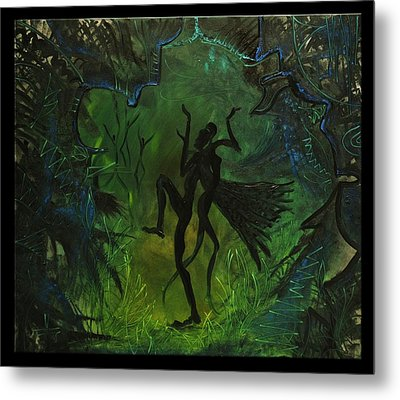 Midsummer Night Metal Print by Zsuzsa Sedah Mathe