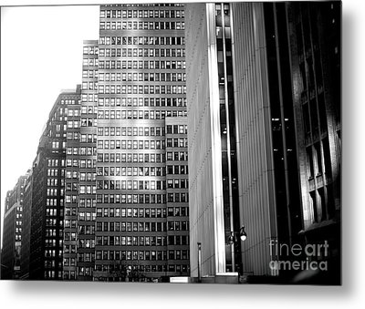 Metal Print featuring the photograph Midtown Light by John Rizzuto