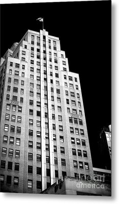 Metal Print featuring the photograph Midtown Style by John Rizzuto