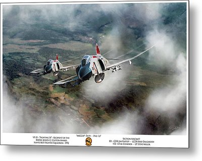 Metal Print featuring the digital art Migcap Duty - Phu Ly by Peter Chilelli