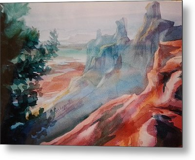 Mighty Canyon Metal Print
