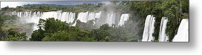 Metal Print featuring the photograph Mighty Iguazu by Andrei Fried