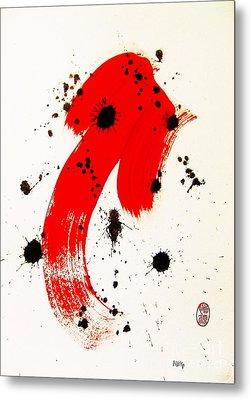 Mikado Rising Metal Print by Roberto Prusso