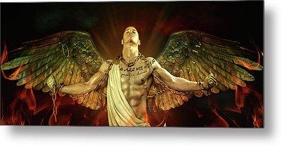 Mike Angel  Metal Print by Mark Ashkenazi