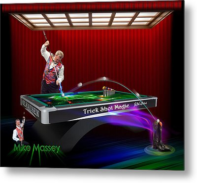Mike Massey  Metal Print by Draw Shots