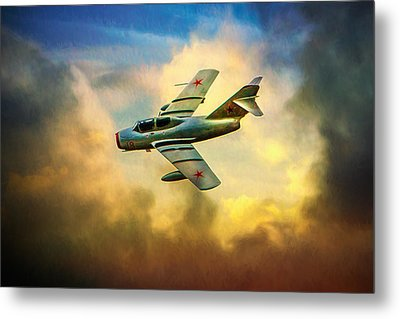 Metal Print featuring the photograph Mikoyan-gurevich Mig-15uti by Chris Lord
