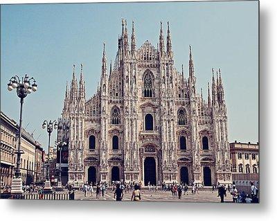 Milan Cathedral Metal Print by Benjamin Matthijs