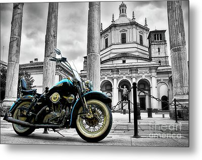 Milan__ Monument S Metal Print by Alessandro Giorgi Art Photography