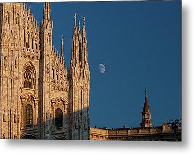 Milano Moonrise Metal Print by Art Ferrier
