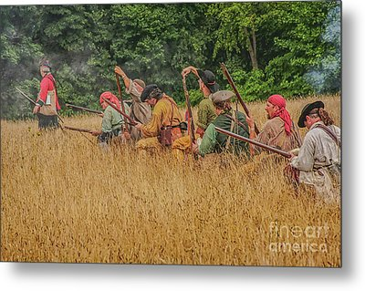 Metal Print featuring the digital art Milita On The Flank by Randy Steele