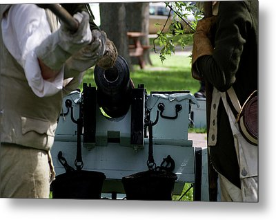Military Field Artillery Revolutionary War 02 Metal Print by Thomas Woolworth