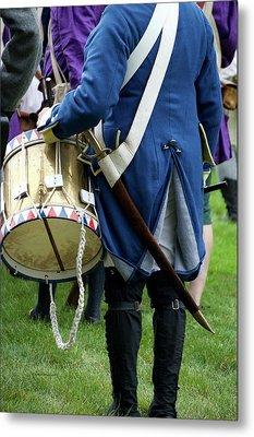 Military Musical Instrument Drum Revolutionary War 03 Metal Print