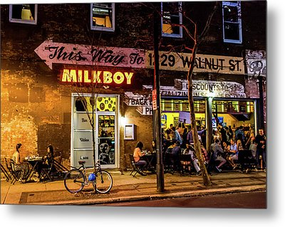 Metal Print featuring the photograph Milkboy - 1033 by David Sutton