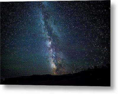 Milky Way Galaxy Metal Print by Dan Pearce