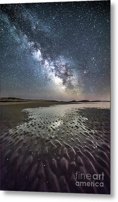 Milky Way Tide Pool Metal Print