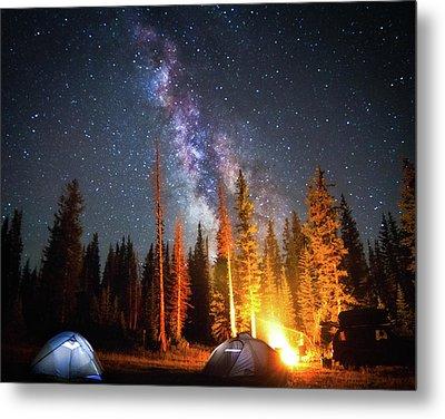 Milky Way Metal Print by William Church - Summit42.com