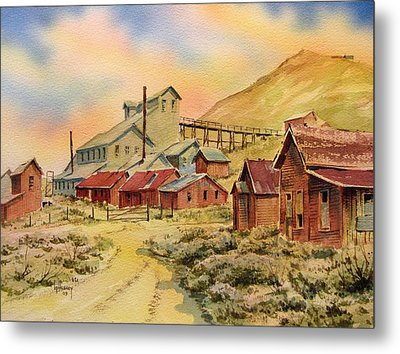 Mill Bodie Ghost Town California Metal Print by Kevin Heaney