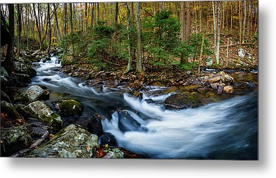 Mill Creek In Fall #2 Metal Print
