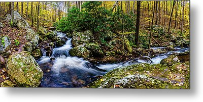 Mill Creek In Fall #4 Metal Print