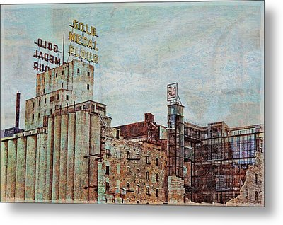 Mill District Minneapolis Metal Print by Susan Stone
