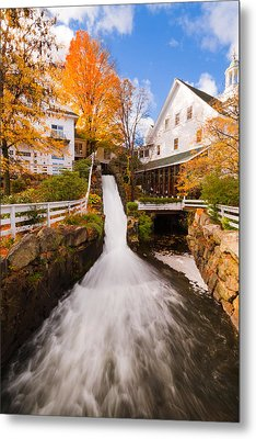 Metal Print featuring the photograph Mill Falls by Robert Clifford