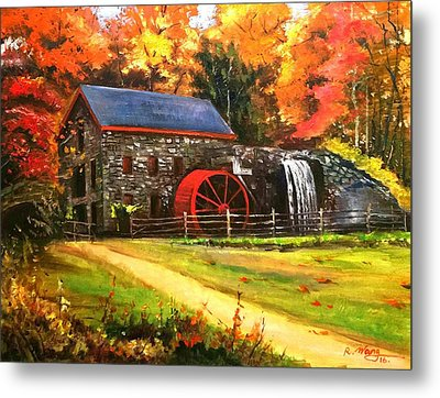 Mill House Metal Print
