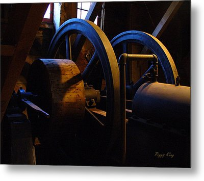 Mill Power Metal Print
