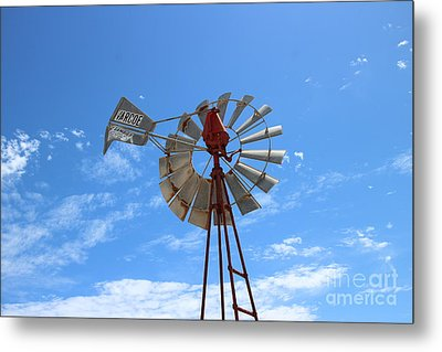 Metal Print featuring the photograph Milled Wind by Stephen Mitchell