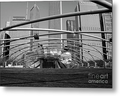 Millennium Park Iv Visit Www.angeliniphoto.com For More Metal Print by Mary Angelini